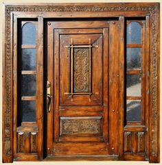 La Puerta Door with Sidelites