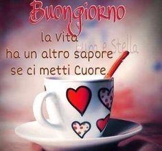it Buongiorno Italian Memes, Italian Sayings, Good Morning Good Night, Pinterest Blog, Morning Images, Happy Weekend, Good Mood, My Coffee, Decir No