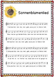 Lied Sonnenbl