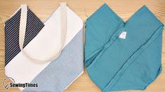 DIY WINDMILL TOTE BAG Bag Pattern Free, Bag Patterns To Sew, Sewing Patterns Free, Sewing Tutorials, Sewing Ideas, Sewing Projects, Beach Bag Tutorials, Diy Handmade Bags, Saree Tassels Designs