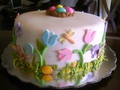Happy Easter By Linda2010 on CakeCentral.com