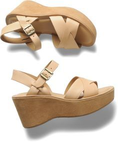 Anybody remember from the late 70s/early 80s the floral canvas wedge sandals you could buy at Woolworths? Description from retrorenovation.com. I searched for this on bing.com/images