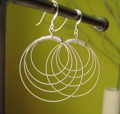 What to do with those old guitar strings!- Guitar String Earrings#