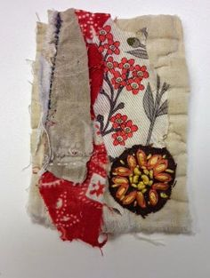 Thread and Thrift - Mandy Pattullo fabric collage