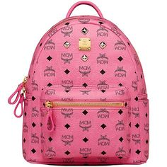 934bf265cb5e6 MCM Small Stark Four Studded Backpack In Rose