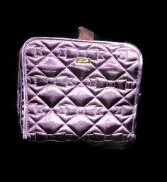 Free: Tarte Purple Satin Embroidered Bows Unfolding Cosmetics Case - Used - Wallets & Accessories Happy 2015, Purple Satin, Cosmetic Case, Holiday Gifts, Craft Supplies, Zip Around Wallet, Arts And Crafts, Auction, Bows