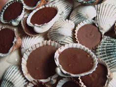 coquillage au chocolat