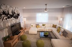 Designers David Bromstad, Patricia Rothman and Gina Carballo, for Color Splash on HGTV.