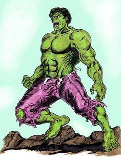 #Hulk #Fan #Art. (Hulk) By: Vincent Bryant. (THE * 5 * STÅR * ÅWARD * OF: * AW YEAH, IT'S MAJOR ÅWESOMENESS!!!™)[THANK Ü 4 PINNING!!!<·><]<©>ÅÅÅ+(OB4E)