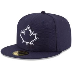 Men's Toronto Blue Jays New Era Navy Game Diamond Era 59FIFTY Fitted Hat