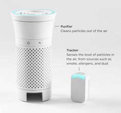 Wynd purificateur d'air intelligent portable