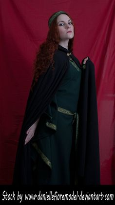 Medieval Cape Stock I Preview by DanielleFioreModel.deviantart.com on @deviantART