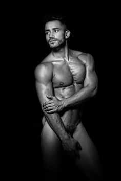 Nude male hairy posing think, you