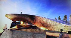 amanda levete architects: EDP cultural centre lisbon - designboom | architecture & design magazine