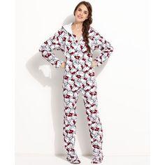 3b2d594831f6c8 Hello Kitty biała piżama śpioch ciepła pidżama XL - 4884133923 - oficjalne  archiwum allegro