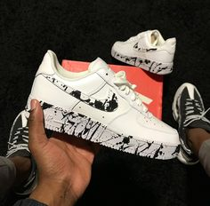 Private commission on a pair of Air Force I nikeairforce1 Nike
