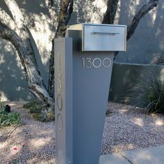 261 Best Modern Mailboxes images in 2019 | Modern mailbox