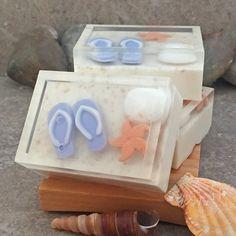 Playas a mano glicerina jabón jabón temática por AlaiynaBSoaps