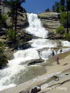 Peppermint Creek Falls, Sequoia National Forrest, Ca