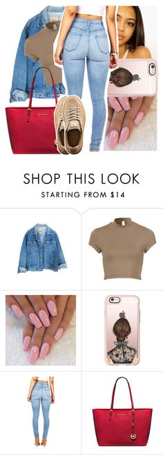 """""""you was just another n* on the hit list✨"""" by naebreezy ❤ liked on Polyvore featuring Casetify, Michael Kors and Puma"""