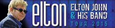 """Elton John & His Band Tour 2015 at Crown Coliseum in Fayetteville, NC - http://www.beachcarolina.com/2015/01/15/elton-john-his-band-tour-2015-at-crown-coliseum-in-fayetteville-nc/ Wednesday, March 11, 2015 Crown Coliseum – Fayetteville, NC FAYETTEVILLE, NC Jan. 15, 2015 – Elton John and his band return to Fayetteville on Wednesday, March 11 as part of the """"All The Hits"""" tour. The tour will feature iconic hits and classic album tracks from throughout his incredible fi"""