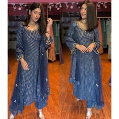 Black georgette sequence embroidered work salwar suit Bridesmaid Dresses, Wedding Dresses, Work Pants, Salwar Suits, Suits You, One Size Fits All, Designer Dresses, Indian, Silk