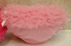 Baby Girl Tutu Ruffle Nappy Cover Underwear Bloomers Bottom Brief Petti Pantie