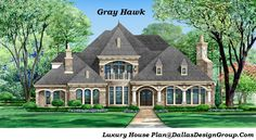 The Gray Hawk - luxury house Plan