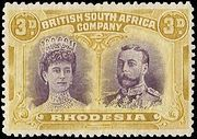 Rhodesia 1910 Double Heads - Stamps of the World