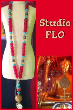 """ Studio Flo "" necklace designed to give you power , confidence and style . Facebook.com/studioflomonbijou"