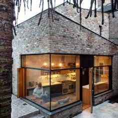 NOJI Architects uses reclaimed bricks for angular extension to historic Dublin house
