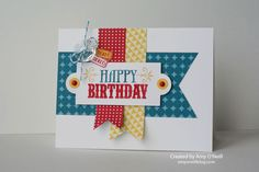 Bright Mojo Birthday | Amy's Paper Crafts