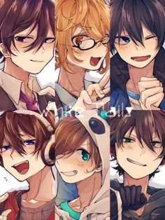 Drawings Of Friends, White Tail, Twitter, Children, Stone, Boys, Anime Girls, Anime Version, Display