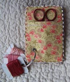 Thread ring and scissors keep by Yolanda Tascon