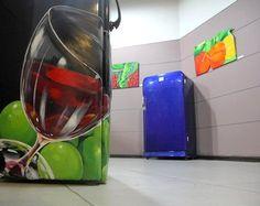 geladeiras antigas personalizadas