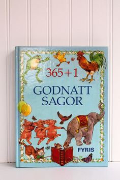 Swedish Language Fairy Tales Children's Book of Goodnight