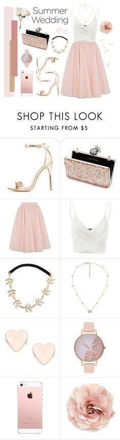 """SUMMER WEDDING"" by karla-jhoana ❤ liked on Polyvore featuring Charlotte Russe, Miss Selfridge, Ted Baker, Doublju, Gucci, Olivia Burton and Cara"