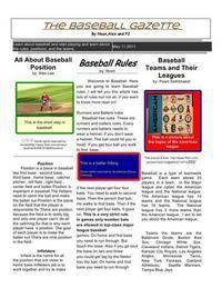 Classroom Newspaper Google Docs Style!