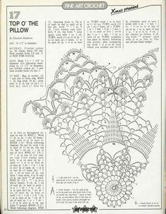 Crochet Pillow Patterns Part 5 - Beautiful Crochet Patterns and Knitting Patterns Tunisian Crochet, Thread Crochet, Filet Crochet, Crochet Doilies, Knit Crochet, Knitting Patterns, Crochet Patterns, Crochet Pillow Pattern, Pillow Patterns