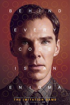 Benedict Cumberbatch in The Imitation Game: exclusive poster - The Telegraph. An interesting film with a terrific performance by Benedict Cumberbatch as Alan Turing. Benedict Cumberbatch, Hd Movies, Movies To Watch, Movies Online, 2015 Movies, Movies Free, The Imitation Game Movie, Movies Showing, Movies And Tv Shows