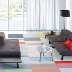 Paper Carpet room