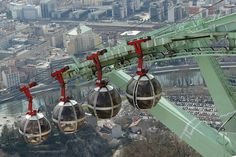 #81 - Take the cable car over Grenoble and admire the view!