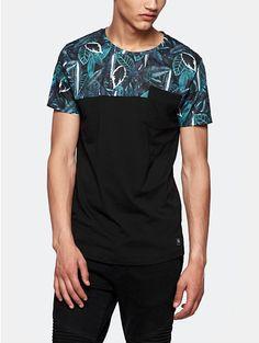 Print t-shirt zwart - The Sting