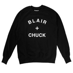 MANNERS Apparel - BLAIR + CHUCK sweat black