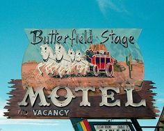 Butterfield Stage Motel, New Mexico--and it has clean rooms!
