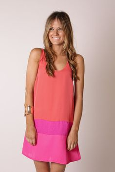 Time to start finding dresses for the cruise this summer!!! Love this colorblock dress!