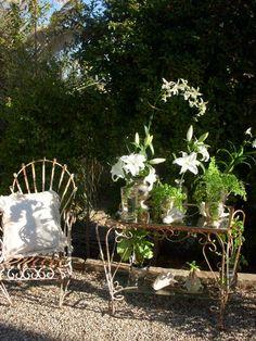 all the beauty things. Outdoor Rooms, Outdoor Living, England And Scotland, Iron Decor, White Gardens, Garden Gates, Vintage Beauty, Fun Activities, Garden Design