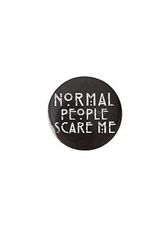 American Horror Story Normal People Pin,