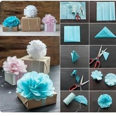 coole bastelideen-geschenk deko ideen The Effective Pictures We Offer You About DIY Gifts for children A quality picture can tell you many things. You can find the most beautiful pictures that can be Fun Crafts, Diy And Crafts, Arts And Crafts, Decor Crafts, Wood Crafts, Home Decor, Tissue Paper Flowers, Diy Flowers, Paper Poms