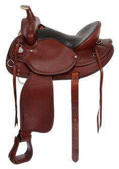 Saddles Tack Horse Supplies - ChickSaddlery.com Wolverine Wide Trail Saddle - Draft Horse Tree